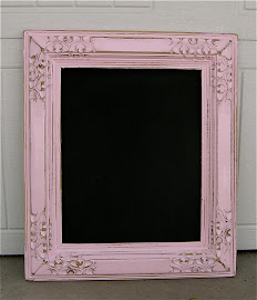 Cotton Candy Chalkboard (SOLD)