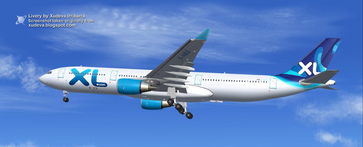 Xl airways france airbus a330 303 f for Airbus a330 xl airways interieur