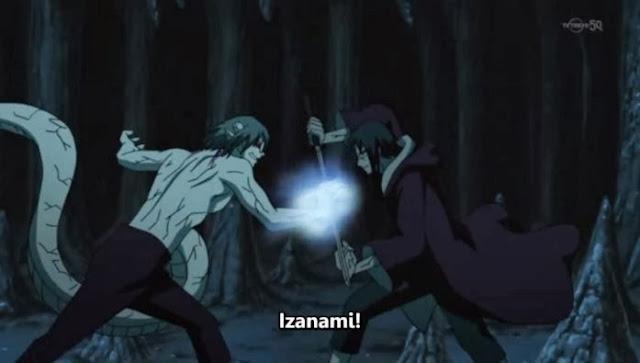 Perbedaan Izanagi dan Izanami Di Naruto Shippuden