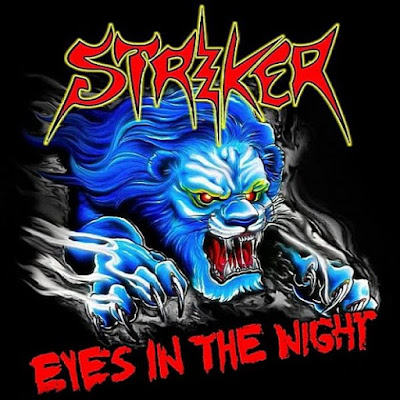 striker eyes in the night