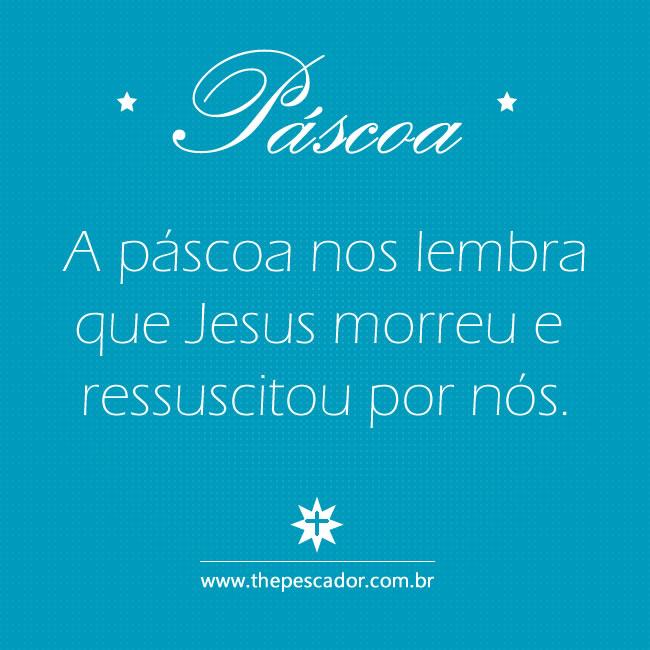 Mensagem de Pascoa para Facebook