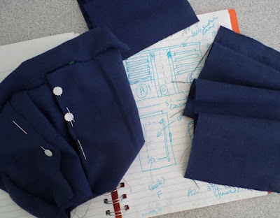 Pattern drafting - eSheep Designs