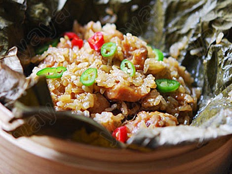 Lotus Leaf Rice