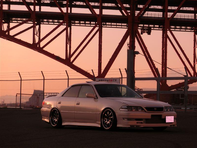 Toyota Mark 2 X100, 1JZ, JZX100, driftowóz, tuning, RWD, zdjęcia, 日本車, チューニングカー, ドリフト走行, トヨタ マークII