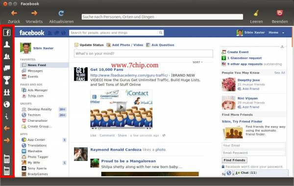 Facebook Desktop