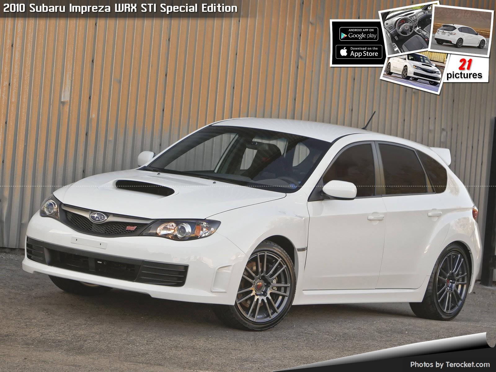Hình ảnh xe ô tô Subaru Impreza WRX STI Special Edition 2010 & nội ngoại thất