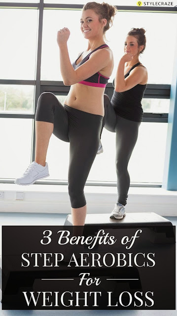 3 Amazing Benefits Of Step Aerobics For Weight Loss