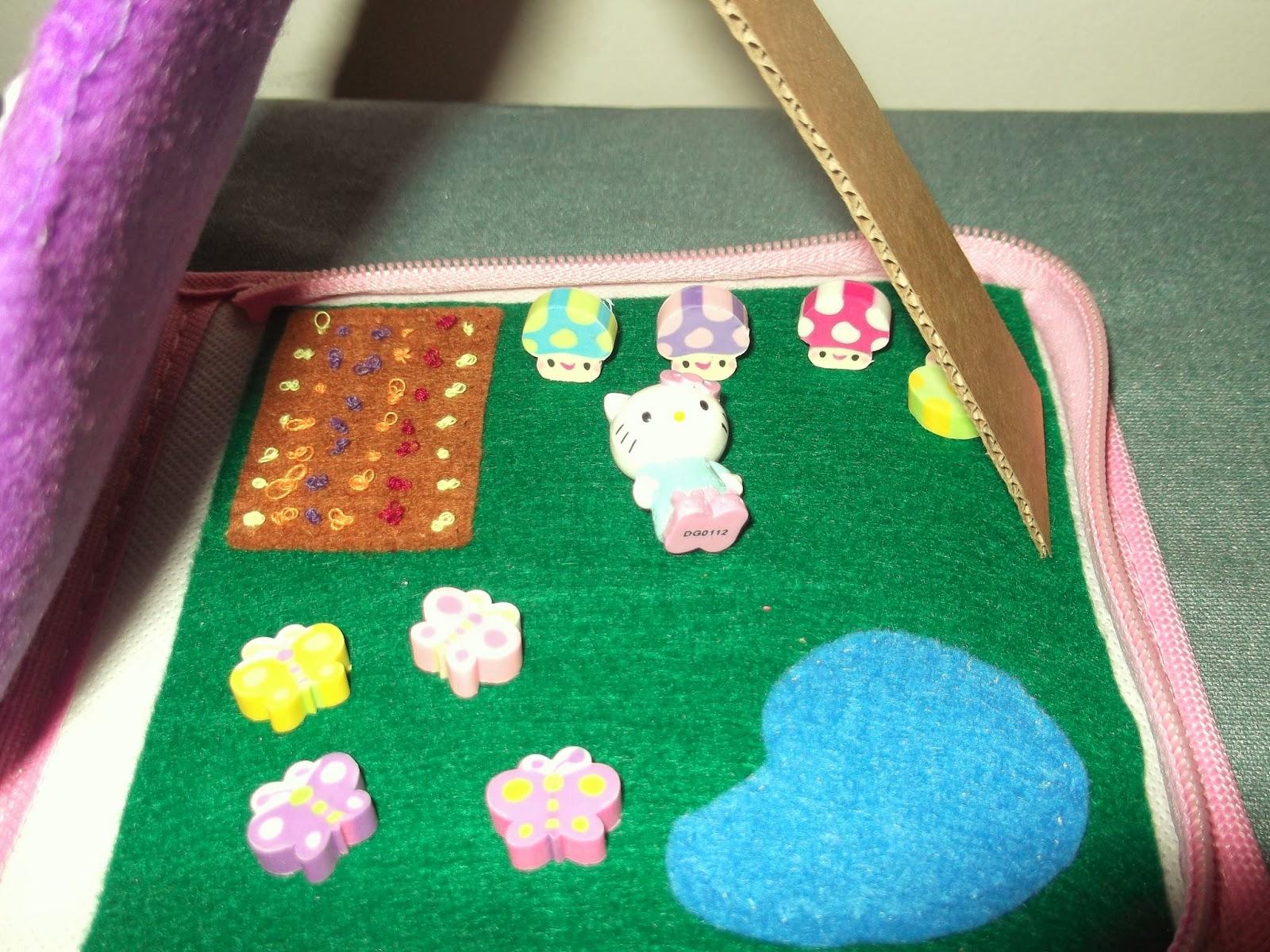 Hello Kitty House Garden