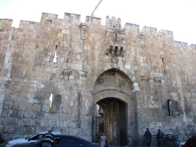 Israel, Jerusalen - Puerta de los Leones