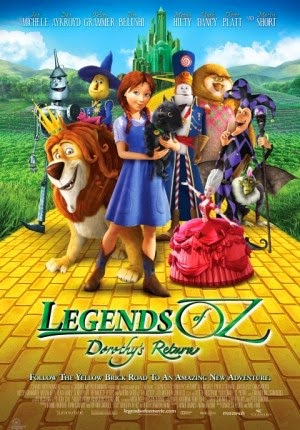 Jadwal Film LEGENDS OF OZ DOROTHYS RETURN Rajawali Cinema 21 Purwokerto
