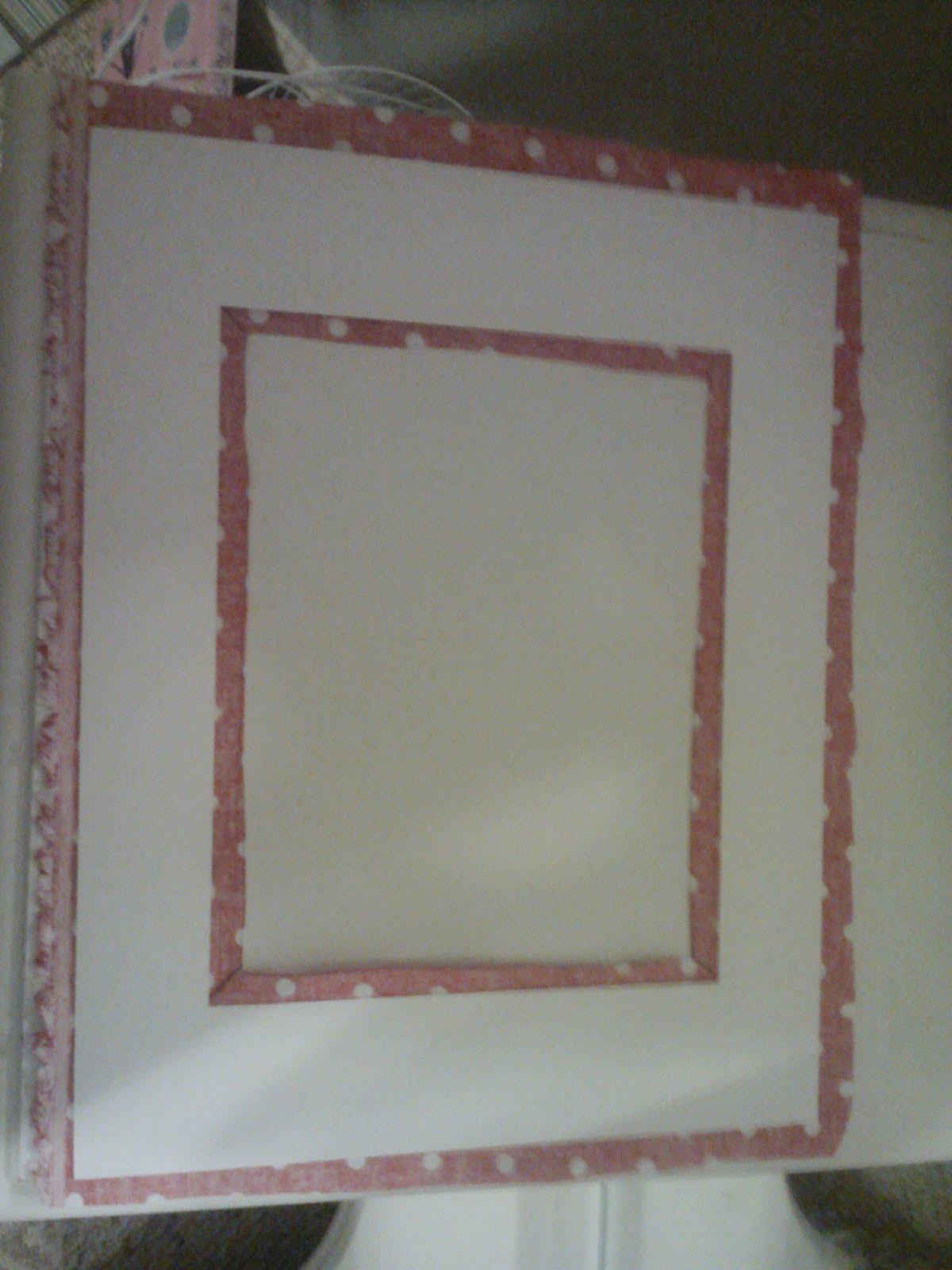 Goat lulu nursery diy week tutorial fabric covered for Diy fabric picture frame