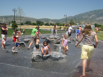 Highland Utah Splash Pad