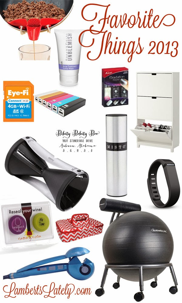 Great gift ideas for the person that has everything http://www.lambertslately.com/2013/12/favorite-things-2013.html