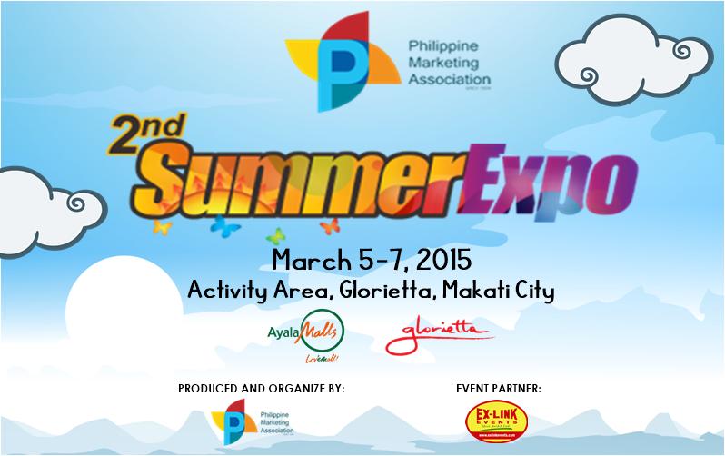 The PMA's 2nd Summer Expo Set in Glorietta