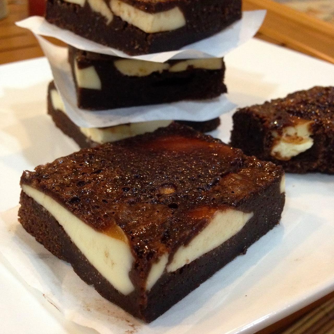 Baking Diary: Cream Cheese Brownies - Bake Along #58