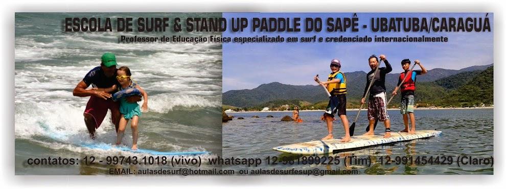 AULAS DE SURF COM LUCIANO