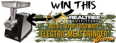 Realtree #8 Meat Grinder by Weston