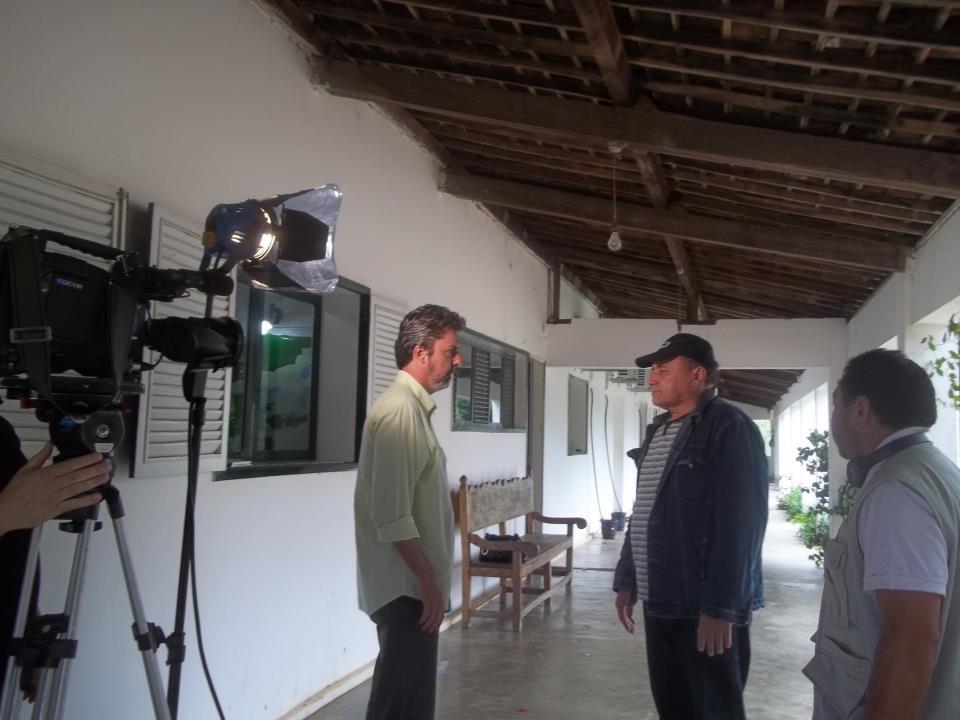 CHICO DO RADIO  GRAVANDO PARA A TV CÂMARA DOS DEPUTADOS  FEDERAIS  BRASILIA  DF