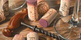Nuevas Pinturas Realistas de Vinos
