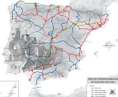 Red ferroviaria española