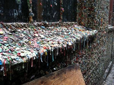 Tembok Permen Karet di Seatle, USA