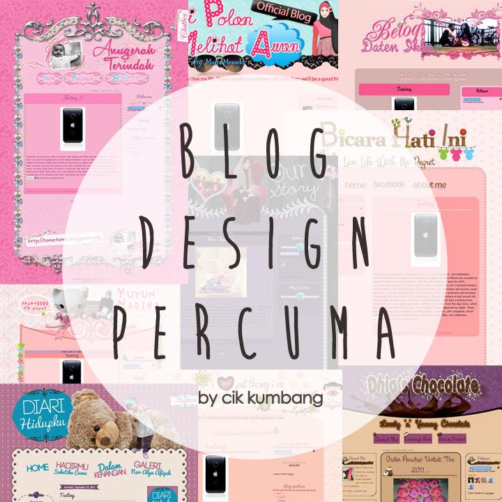 Blog Design Percuma