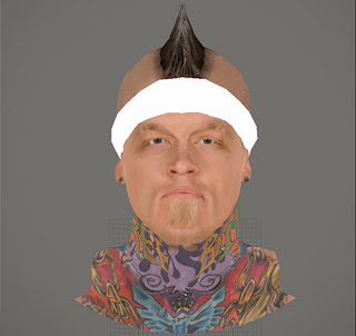 NBA 2K14 Chris Andersen Cyberface Mod