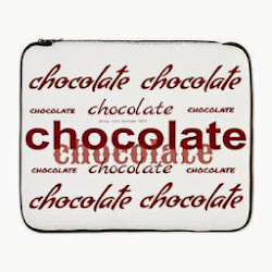 "Celebrate Chocolate 17"" Laptop Sleeve"