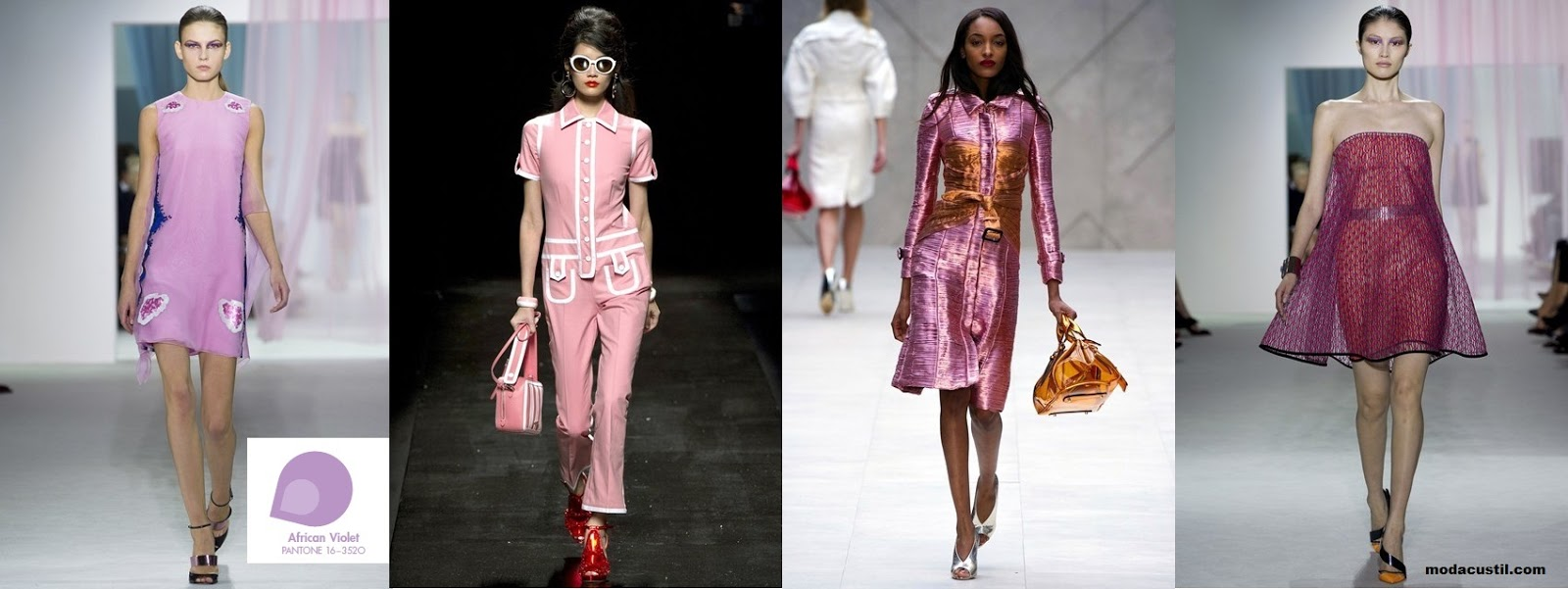 African Violet - Colors Spring Summer Fashion 2013