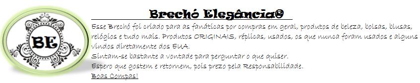 * Brechó Elegância *