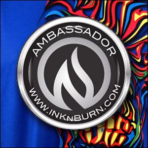 INKnBURN Ambassador 2017, 2018