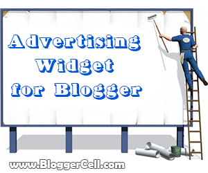 Advertise Here Ad Banner Widget for Blogger