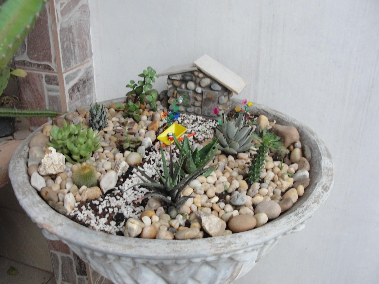 artesanato mini jardim:ARTE DO TONINHO: MINI JARDIM