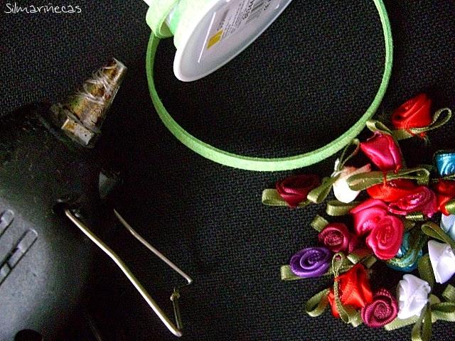cómo hacer una corona de flores fácil
