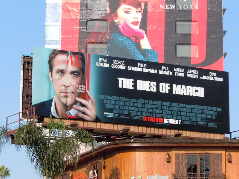 The Ides of March movie billboard