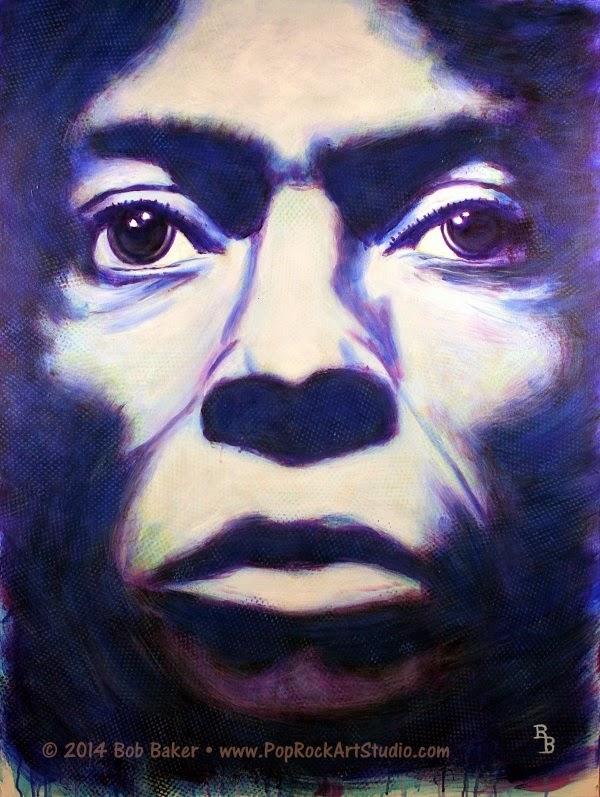 Miles Davis Art - Tutu Album Cover
