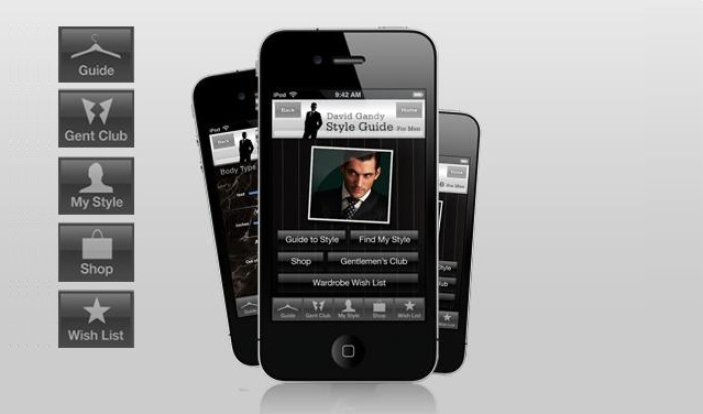 apps David Gandy para iphone