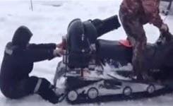 Winter fun from Russia