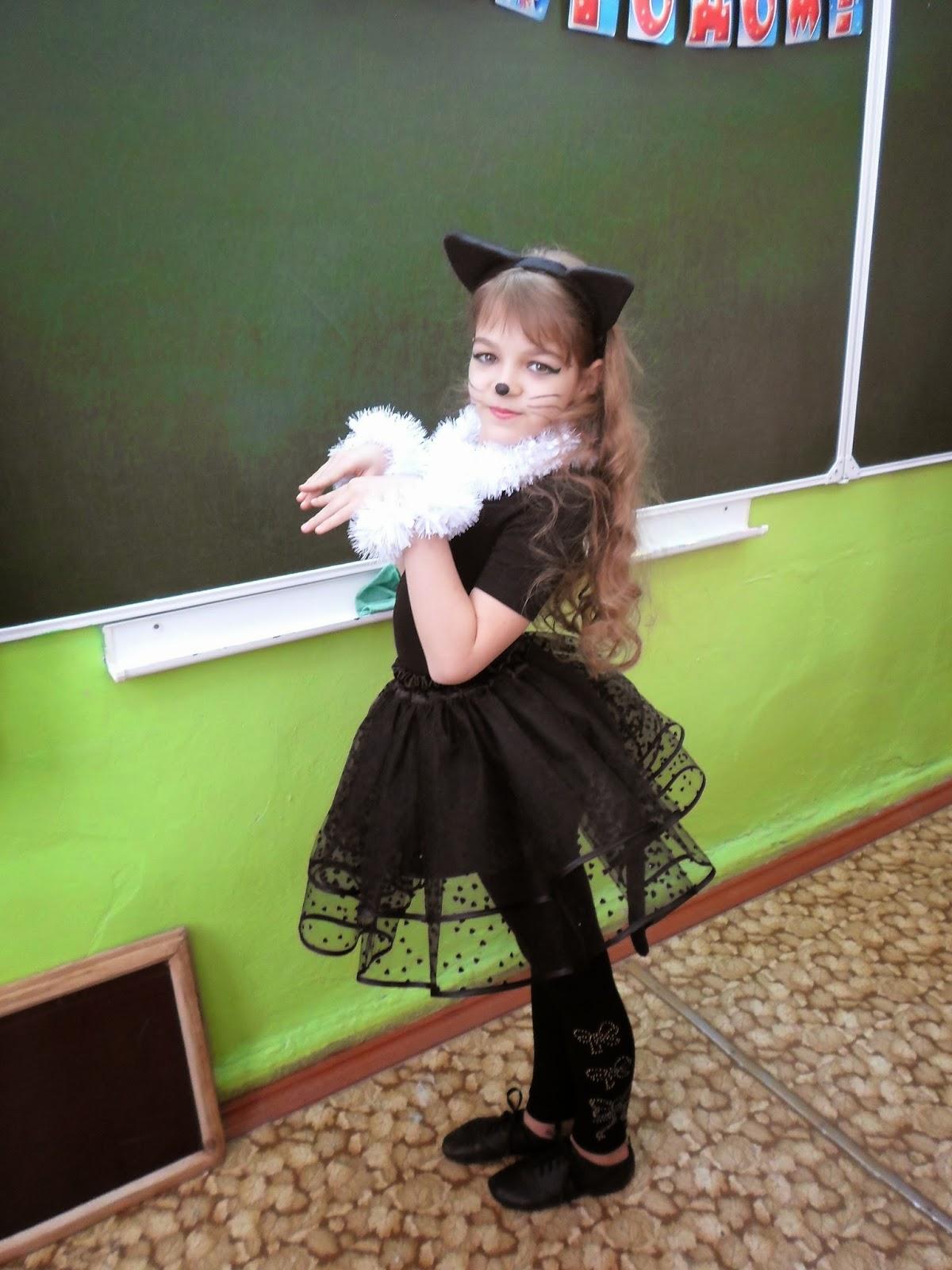 Как сшить костюм кошки для девочки фото 412