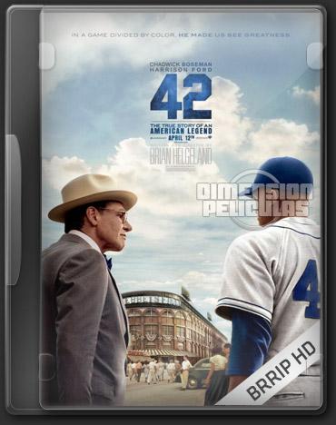 42 (BRRip HD Inglés Subtitulada) (2013)
