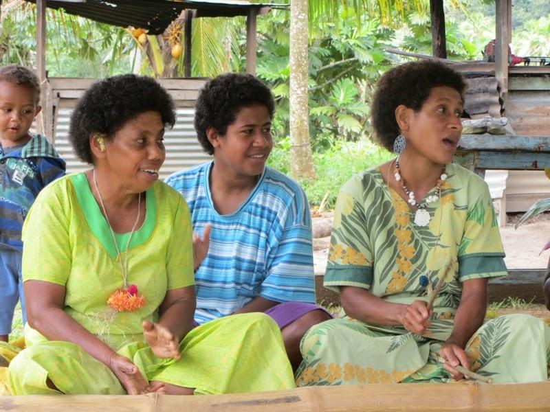 Frauen aus dem Dorf