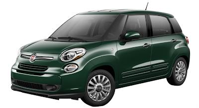 2014 Fiat 500L Verde Bosco Perla