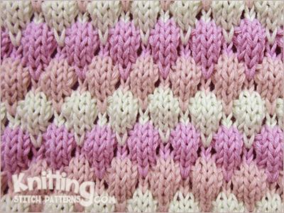Bubble Wrap Knitting Stitch Patterns