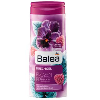 Preview: Balea Limited Edition: Der Herbst kommt! - Balea Frozen Breeze Duschgel - www.annitschkasblog.de