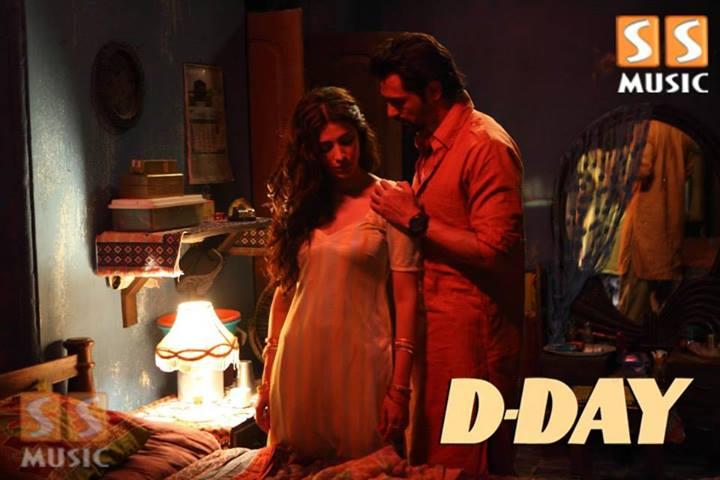 Shruti Hassan Hot Bed Scene in DDay