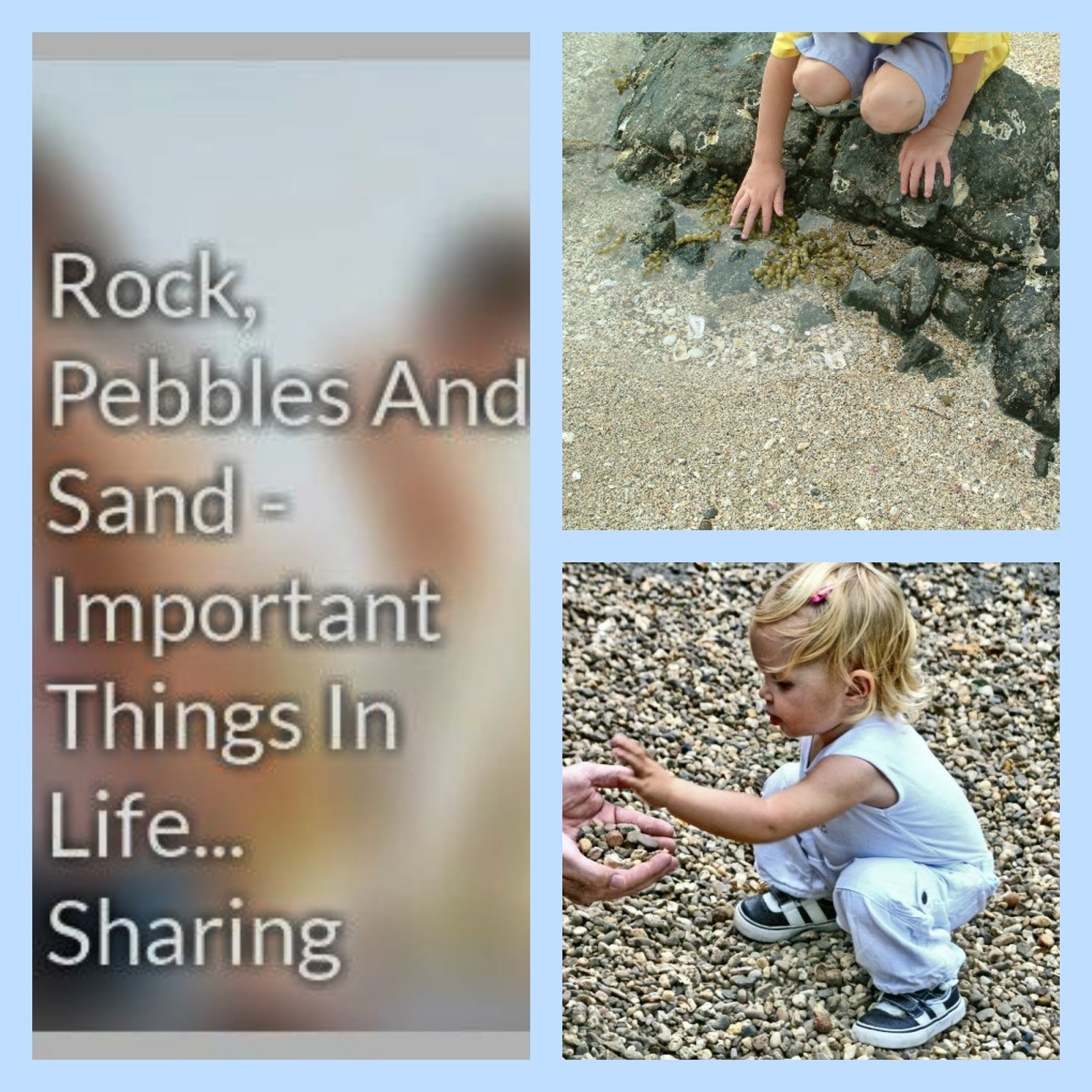 math games for preschoolers with rocks and pebbles
