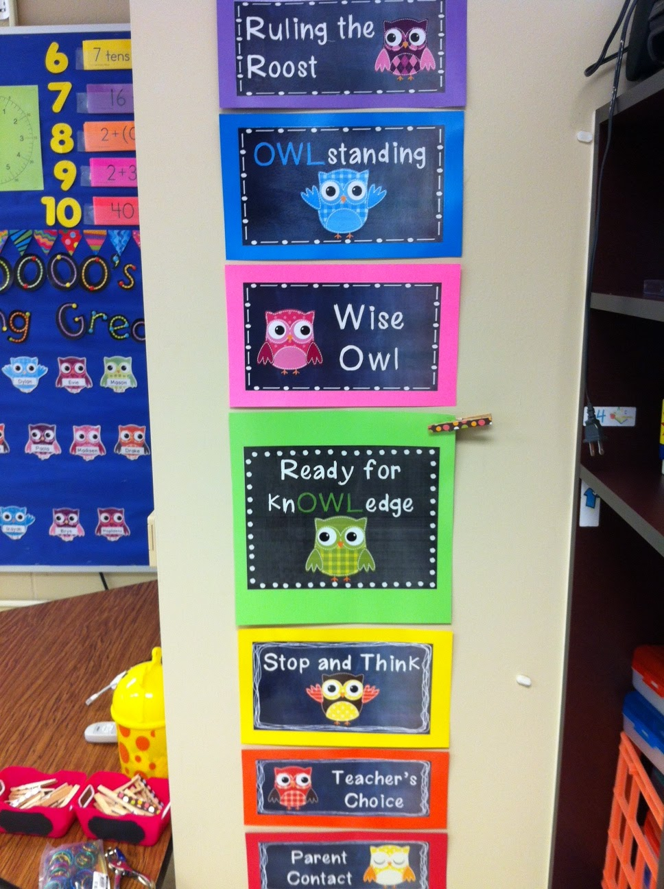 Classroom Decoration With Charts ~ Rulin the roost progress