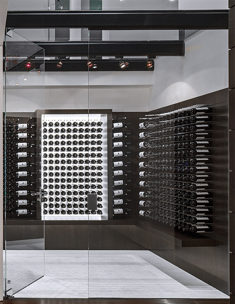 If it 39 s hip it 39 s here archives part two modern for Garage wine cellar