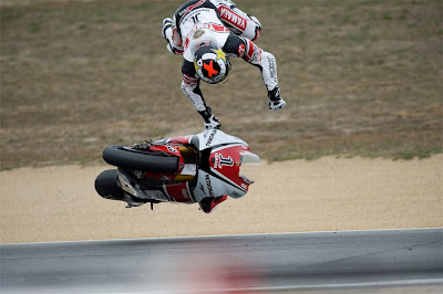 jorge lorenzo laguna seca crash highside 2011