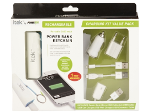 Buy PowerXcel Itek Charging Kit Combo Set And Get at 53% off with Extra Rs. 200 (App only) – buytoearn